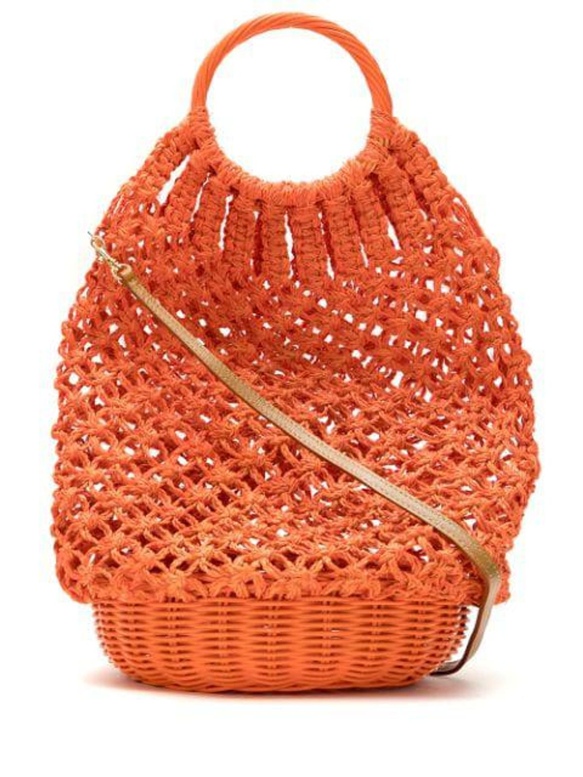 Lara Crochet Basket Bag