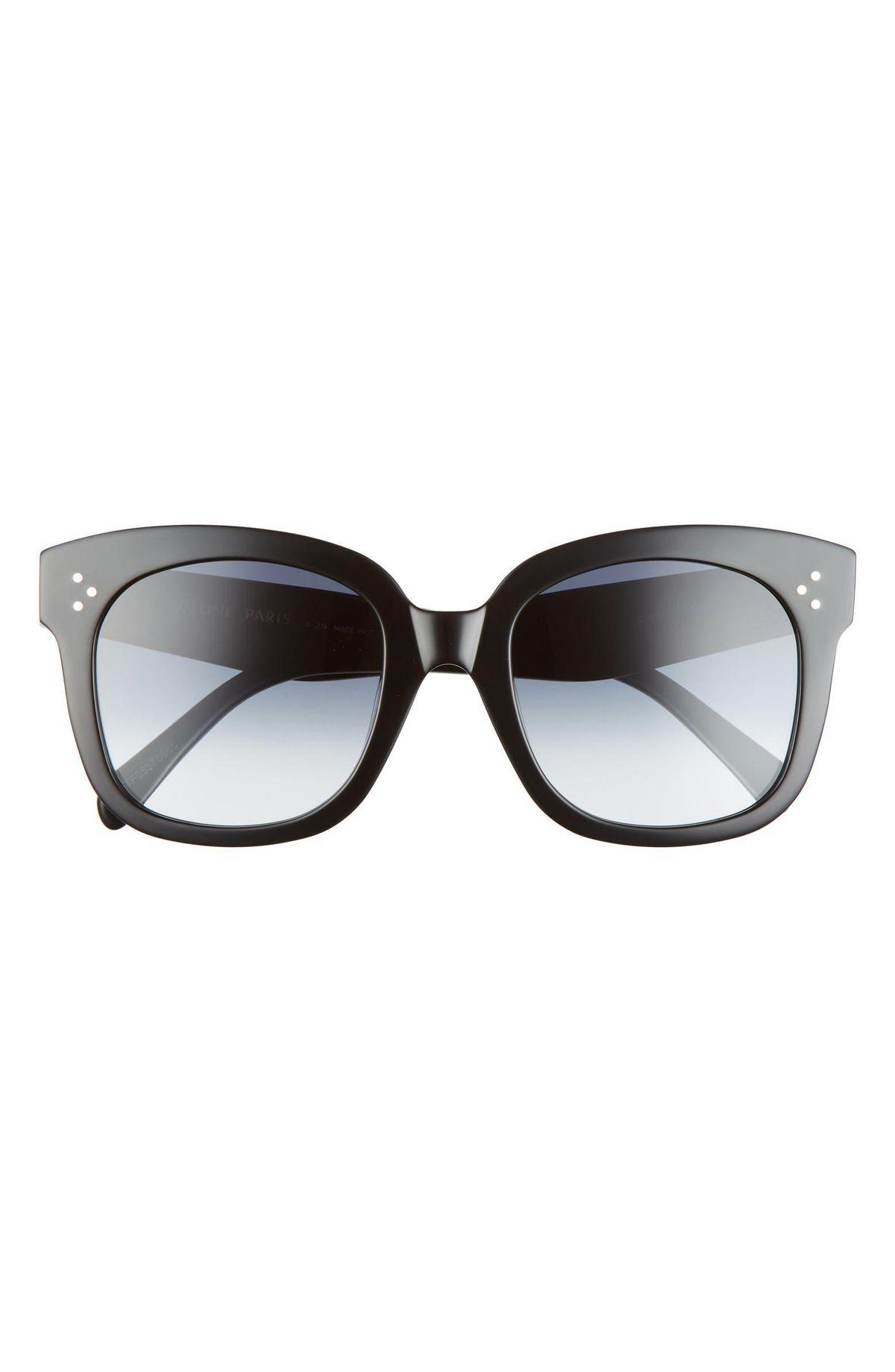 54mm Gradient Square Sunglasses
