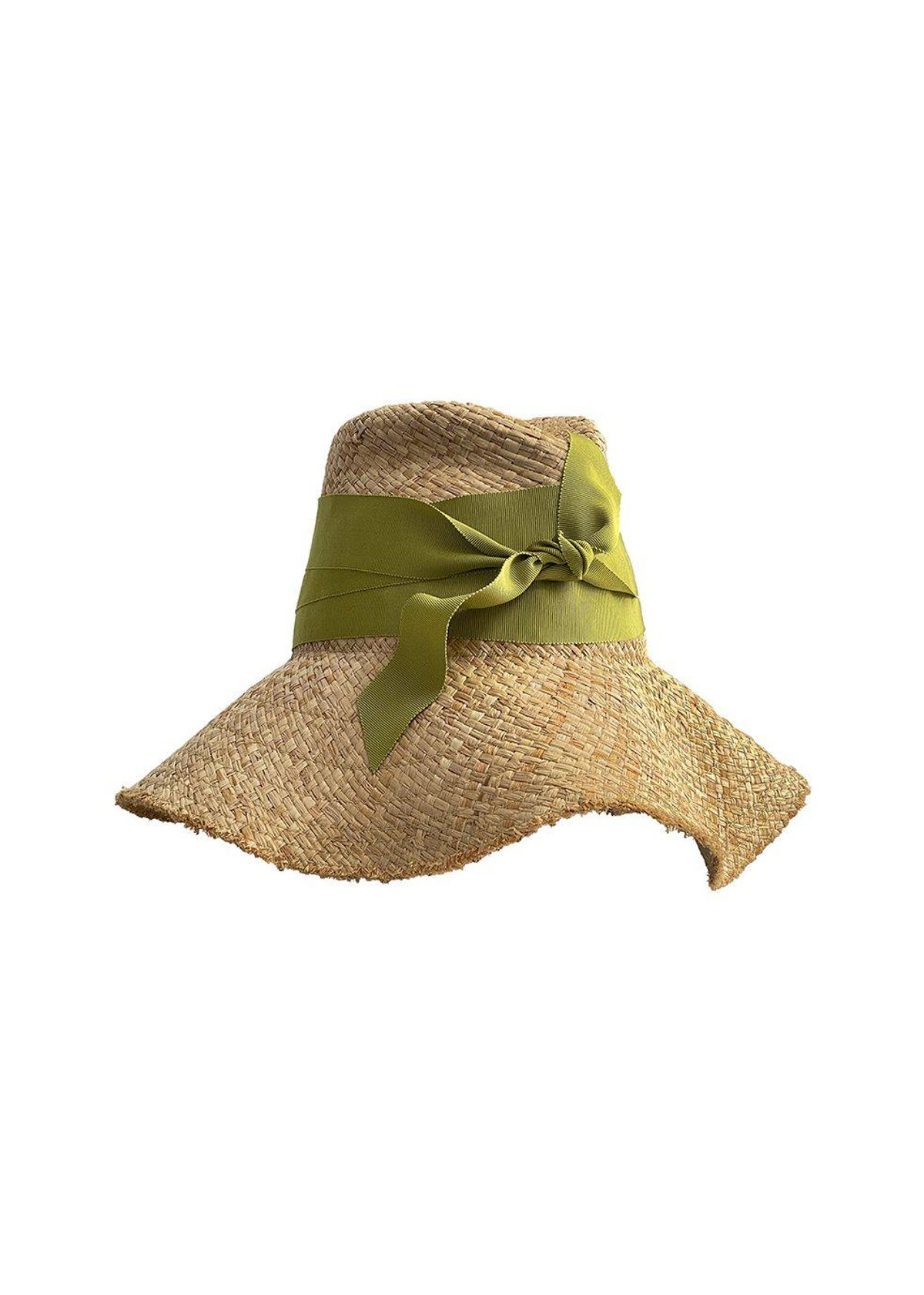 First Aid Hat in Lime