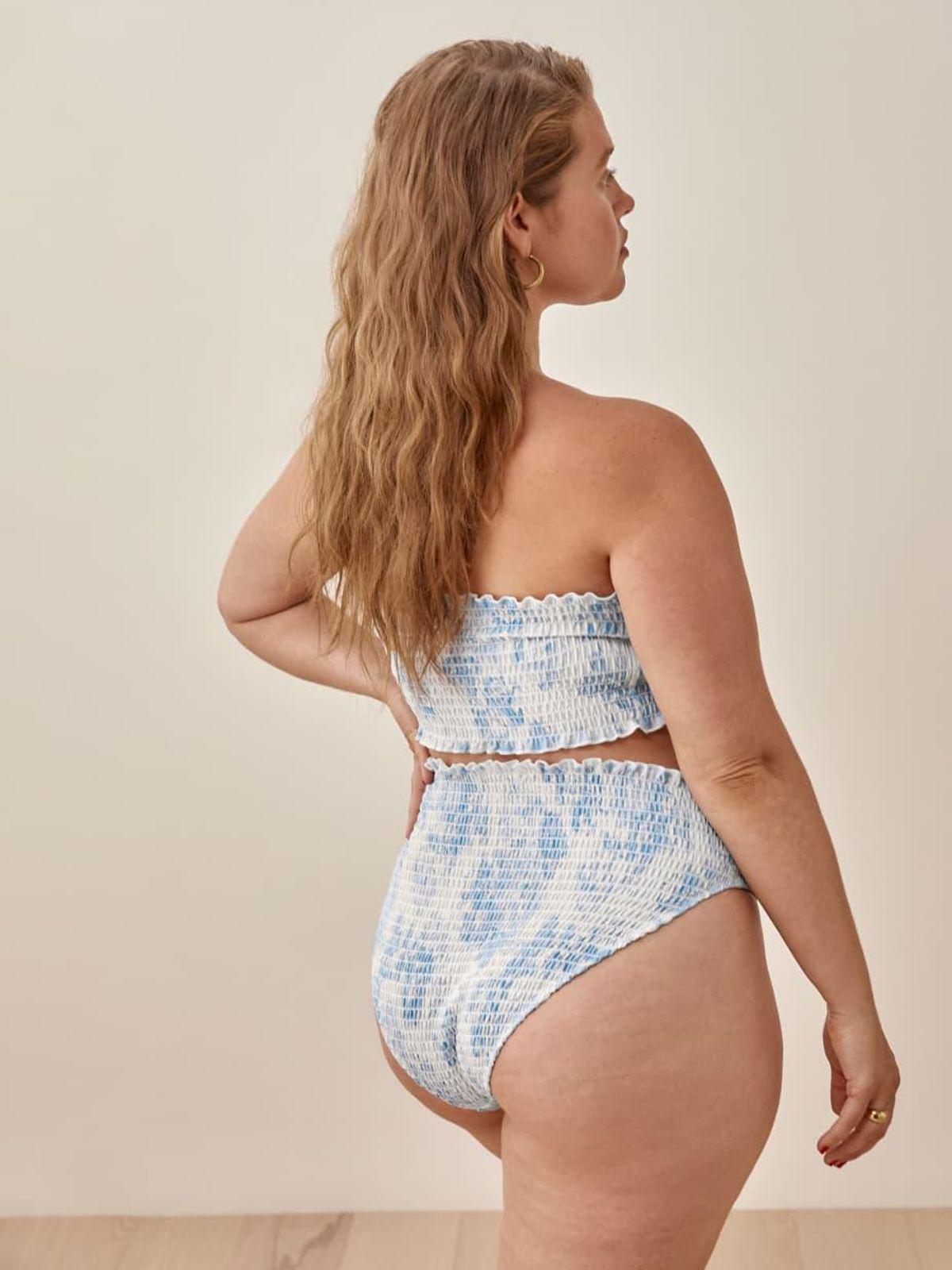 Ventura Smocked Bikini Bottom