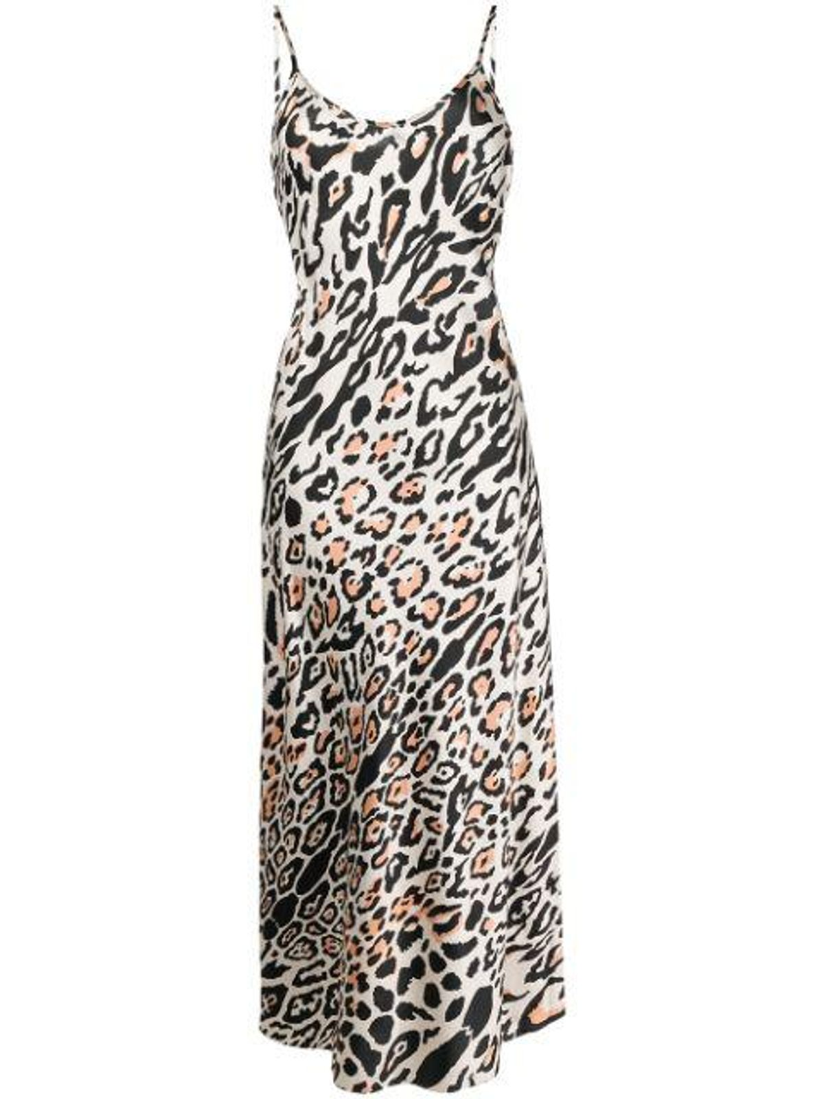 Elpis Silk-Blend Slip Dress