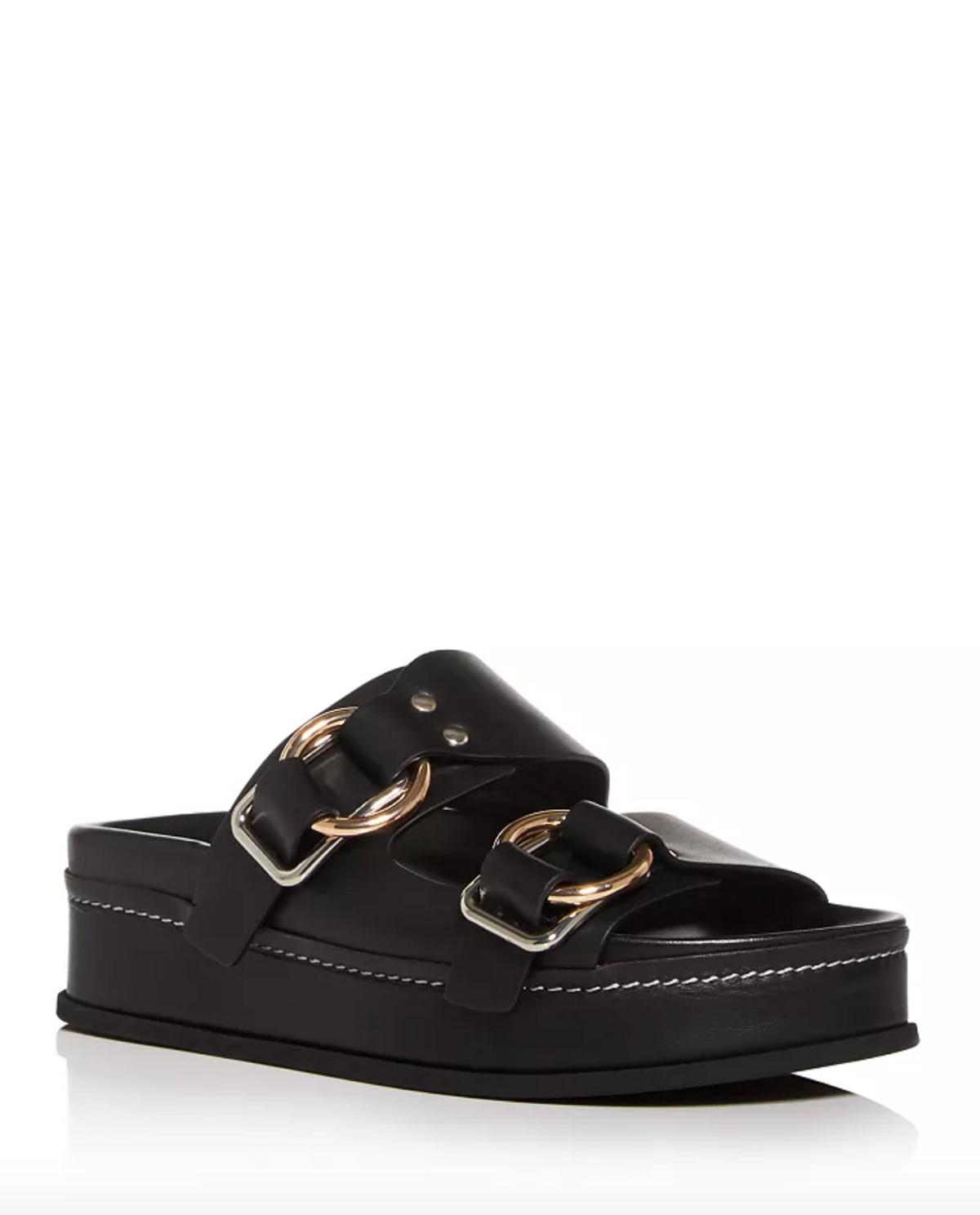 Freida Platform Slide Sandals