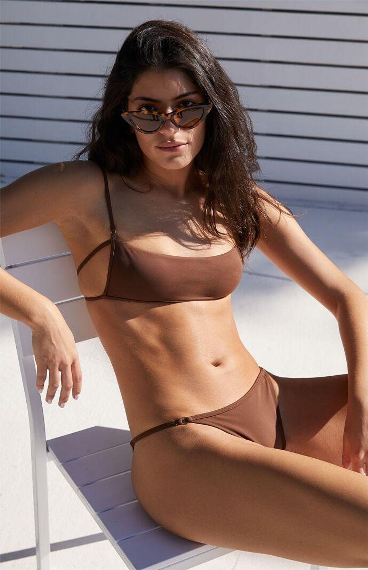 la hearts by pacsun drea ring balconette bikini top