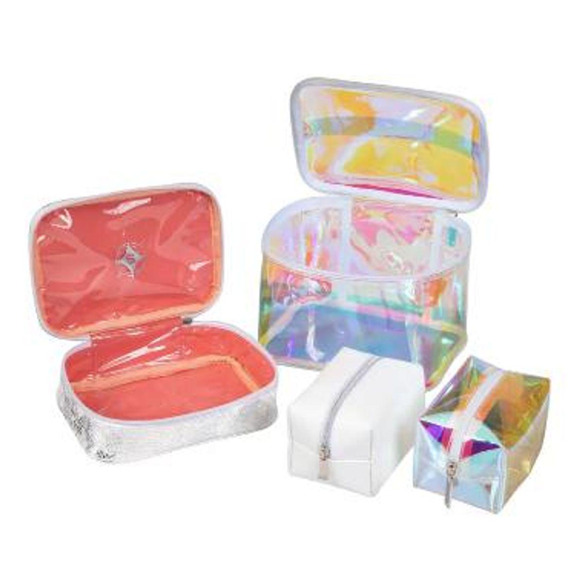 stephanie johnson miami white chloe travel organizer makeup case