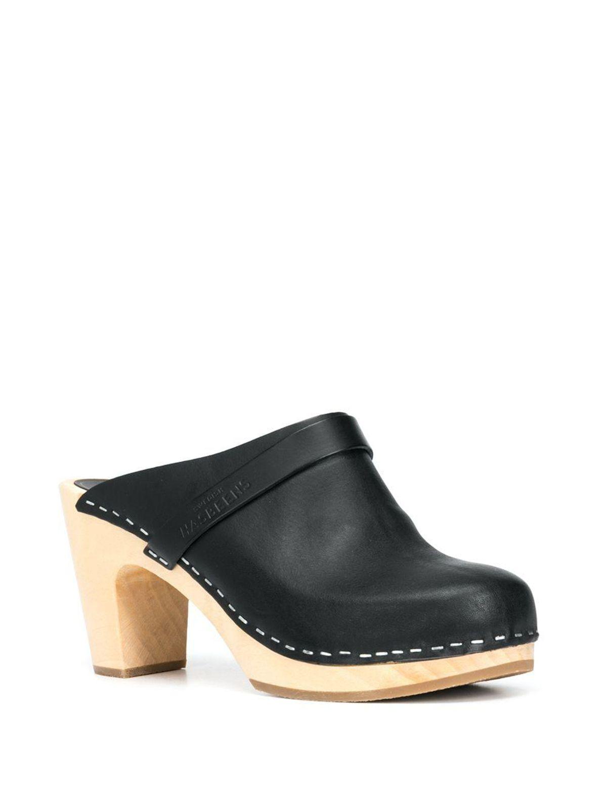 Slip-On High Heel Clogs