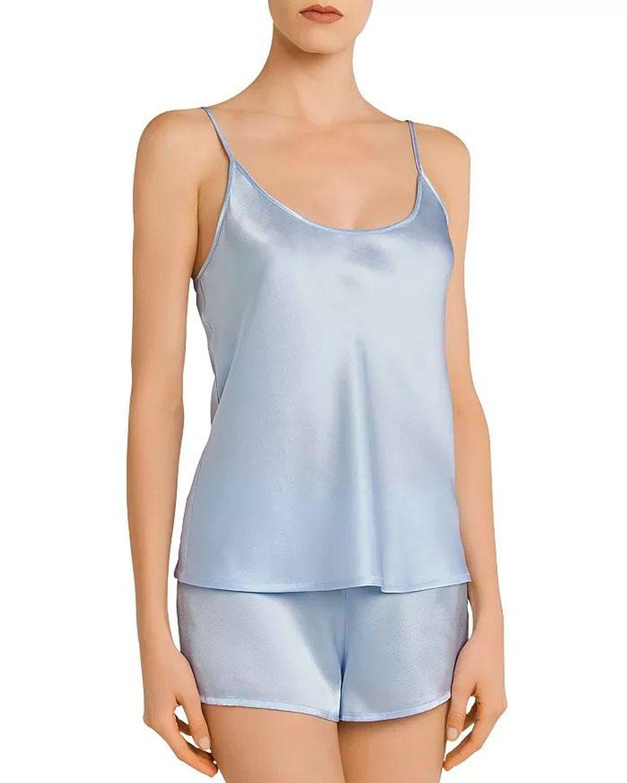 la perla silk short pajama set