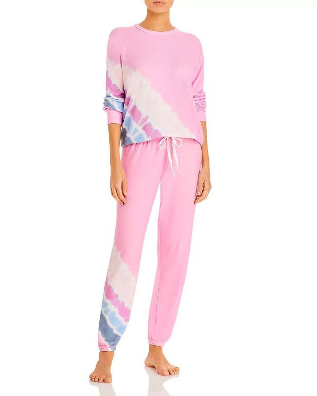 aqua print pajama
