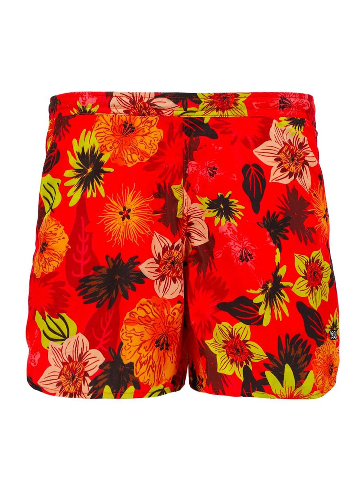 lhd niteroi short tropical floral red
