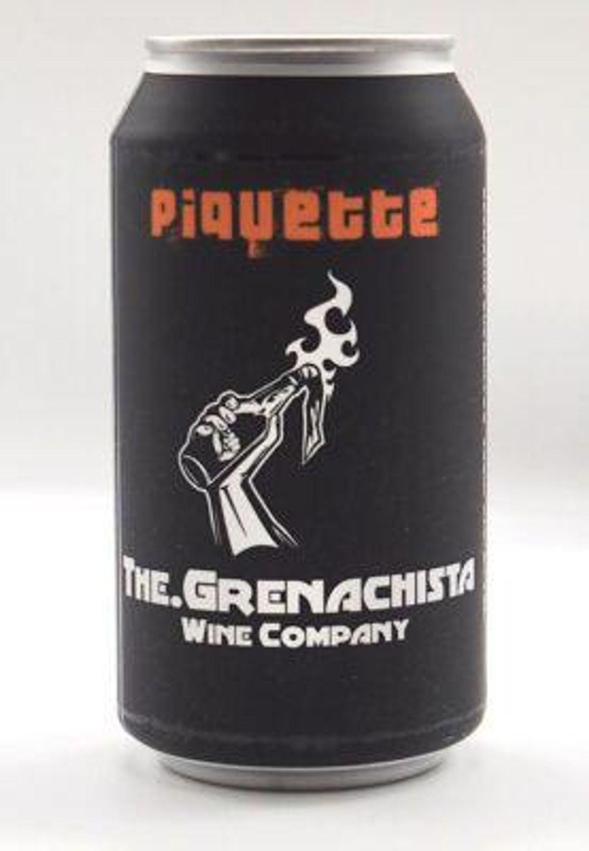 grenachista piquette cans