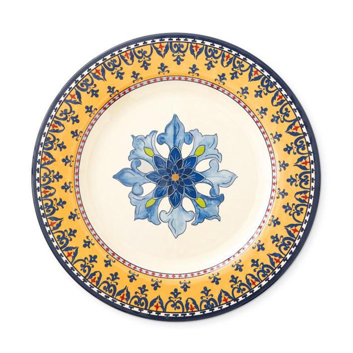 Sicily Outdoor Melamine Dinner Plates