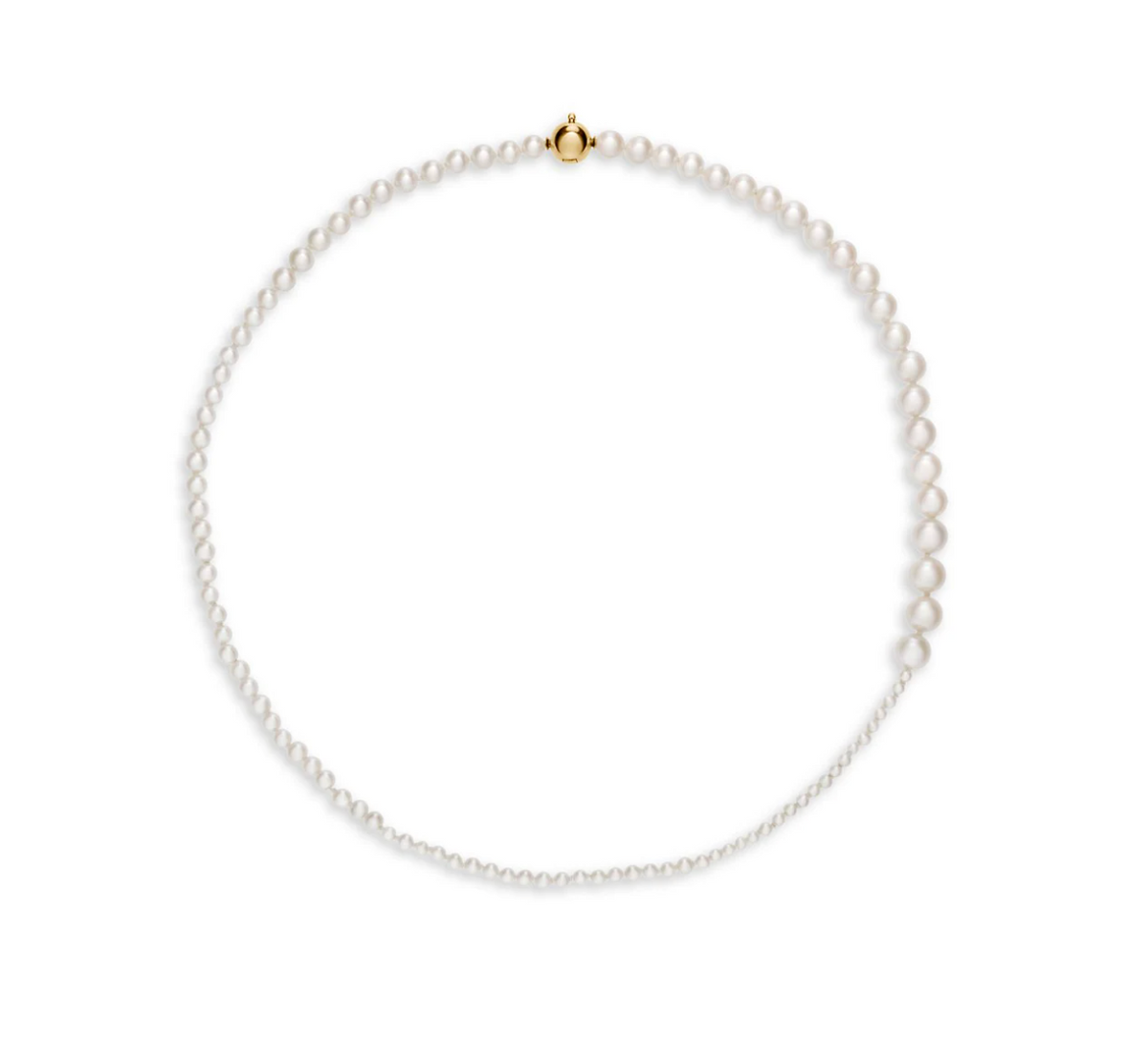 Classic Collection 14K Yellow Gold & 2-6MM Pearl Petite Peggy Necklace