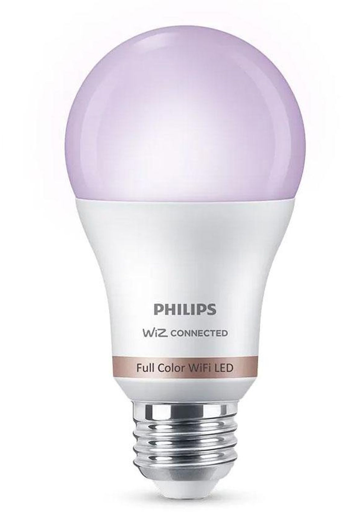 philips color and tunable white a19 led 60 watt equivalent dimmable smart wi fi wiz connected wireless light bulb