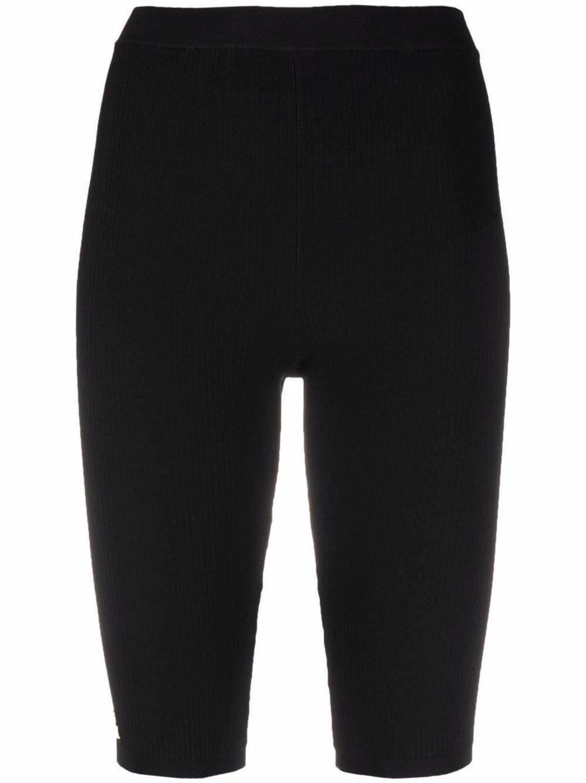 Logo Plaque Knee Length Shorts
