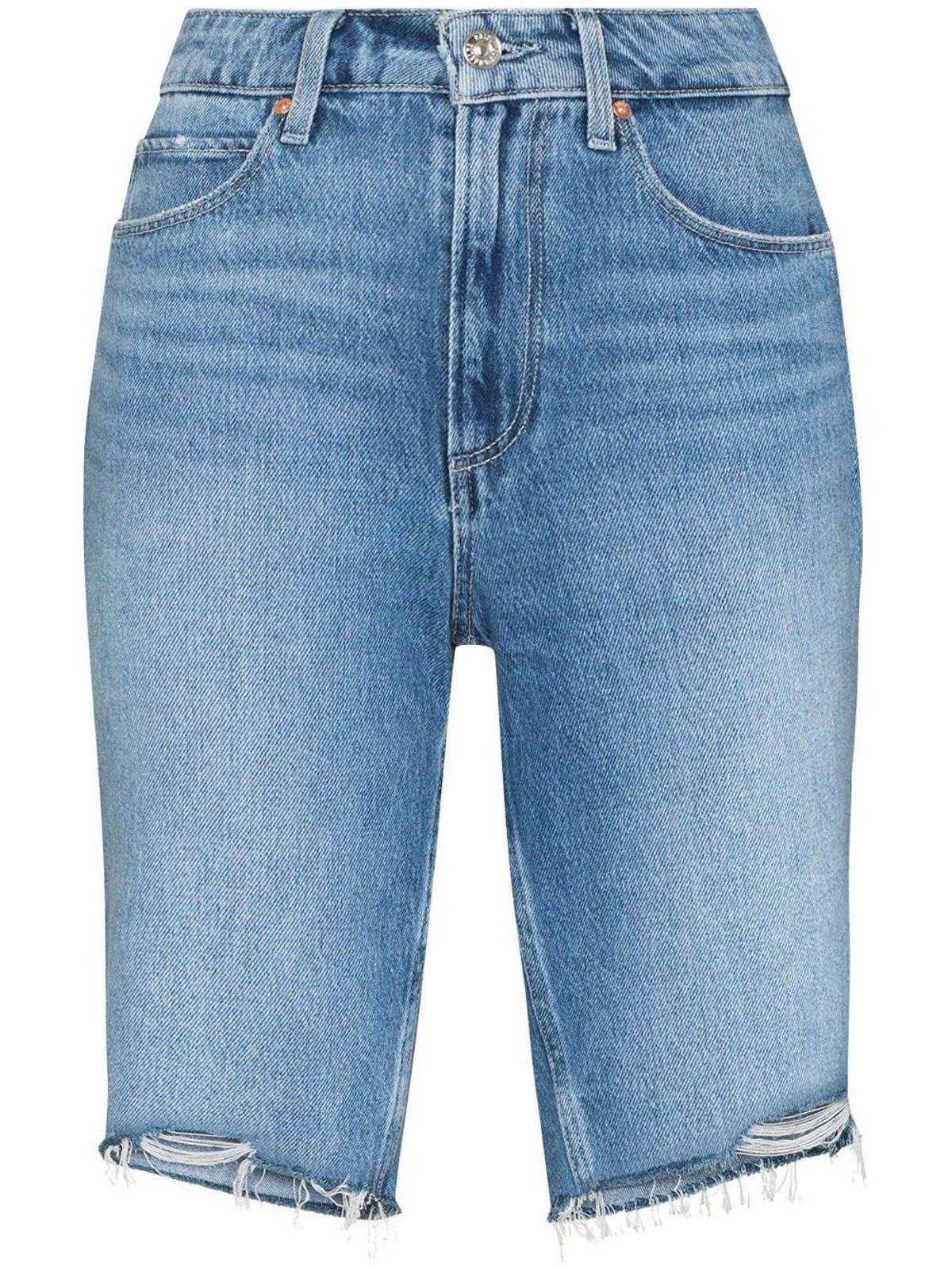 Robbie Denim Bermuda Shorts