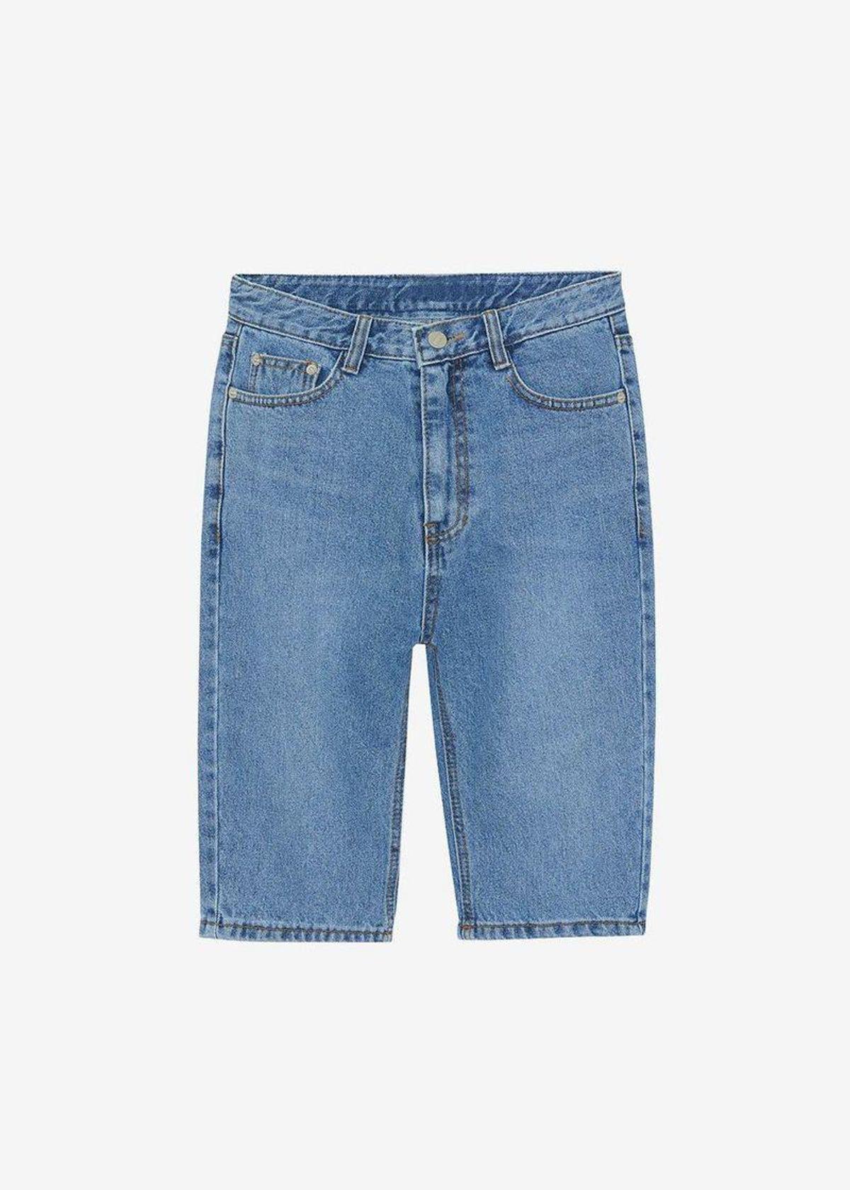 Slim Knee Length Shorts