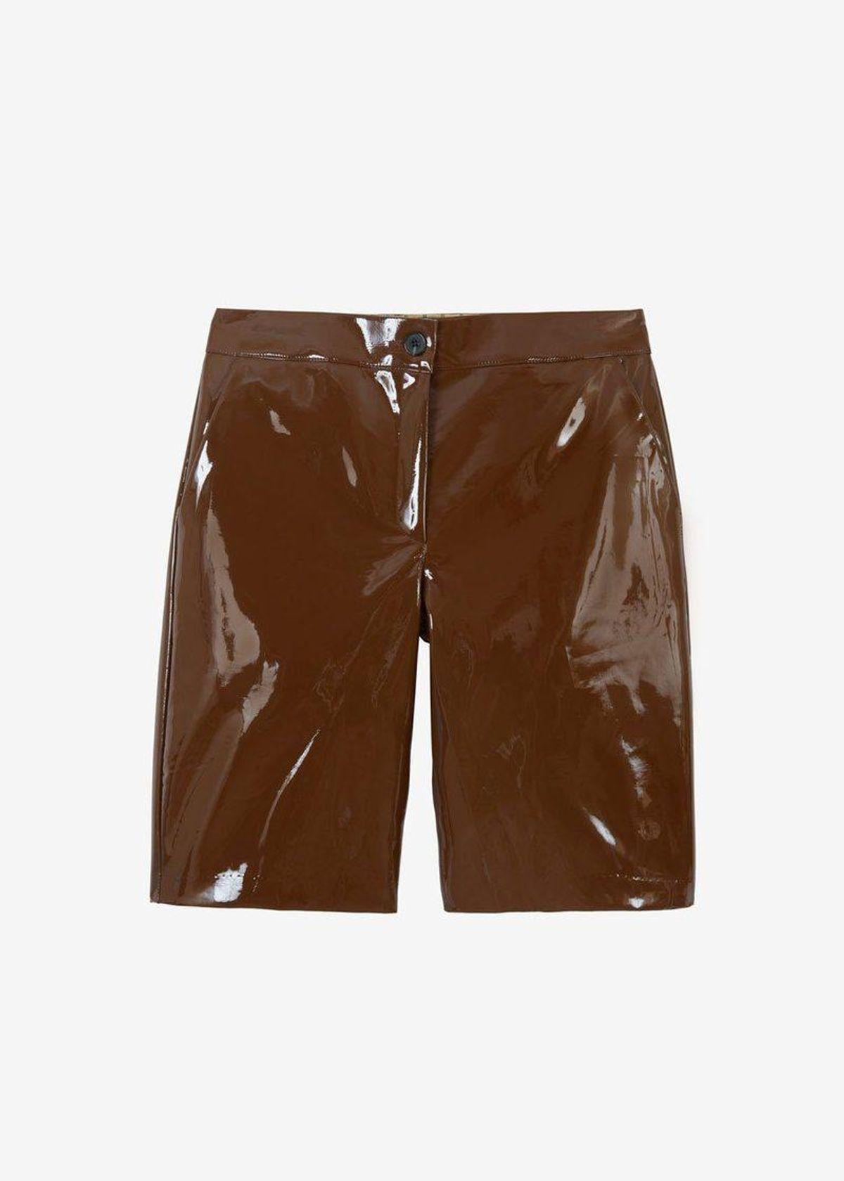 Eden Sleek Patent Shorts