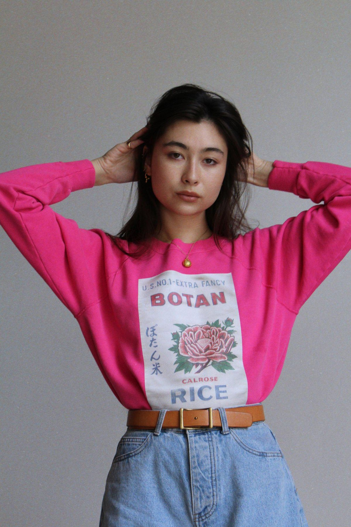 Botan Sweatshirt Barbie Pink