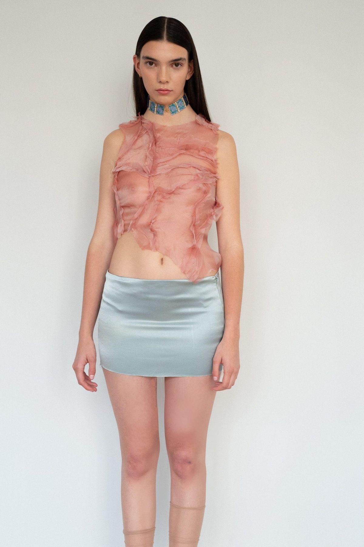Bodylines Top in Pink