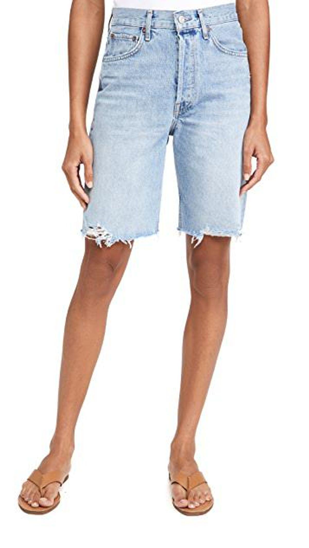 '90s Short Mid Rise Loose Shorts