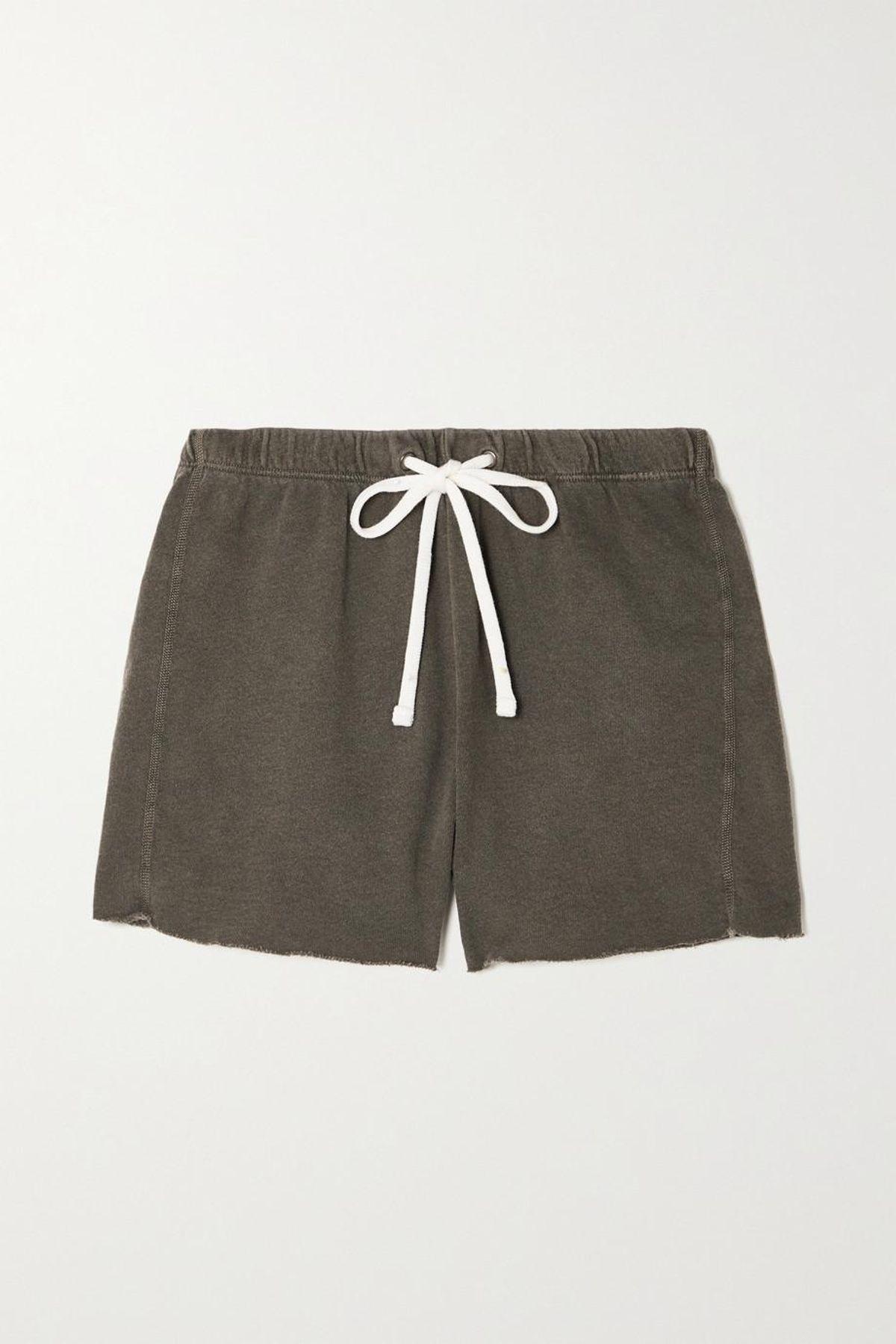 Supima Cotton Jersey Shorts