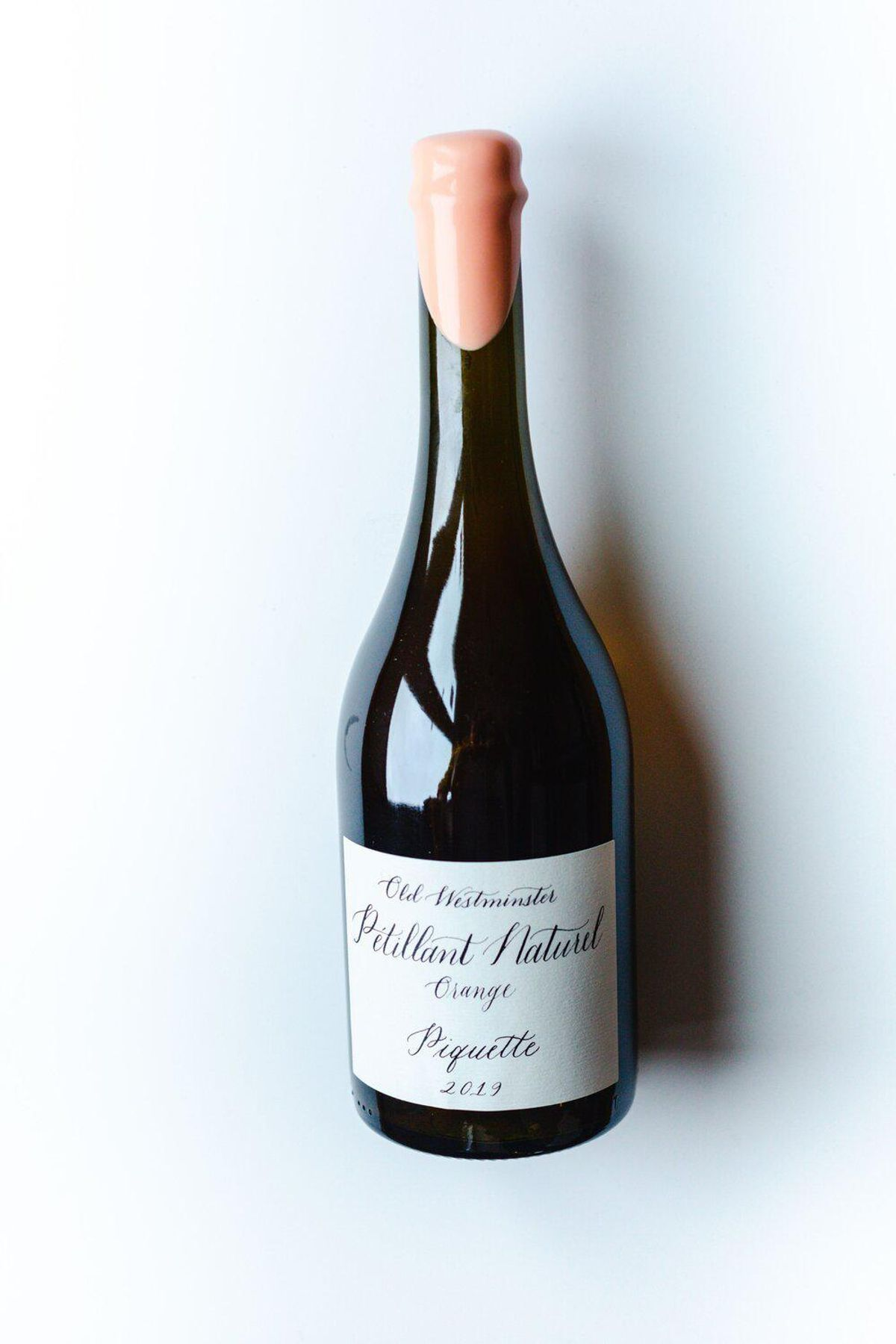 old westminister winery 2020 orange pet nat piquette