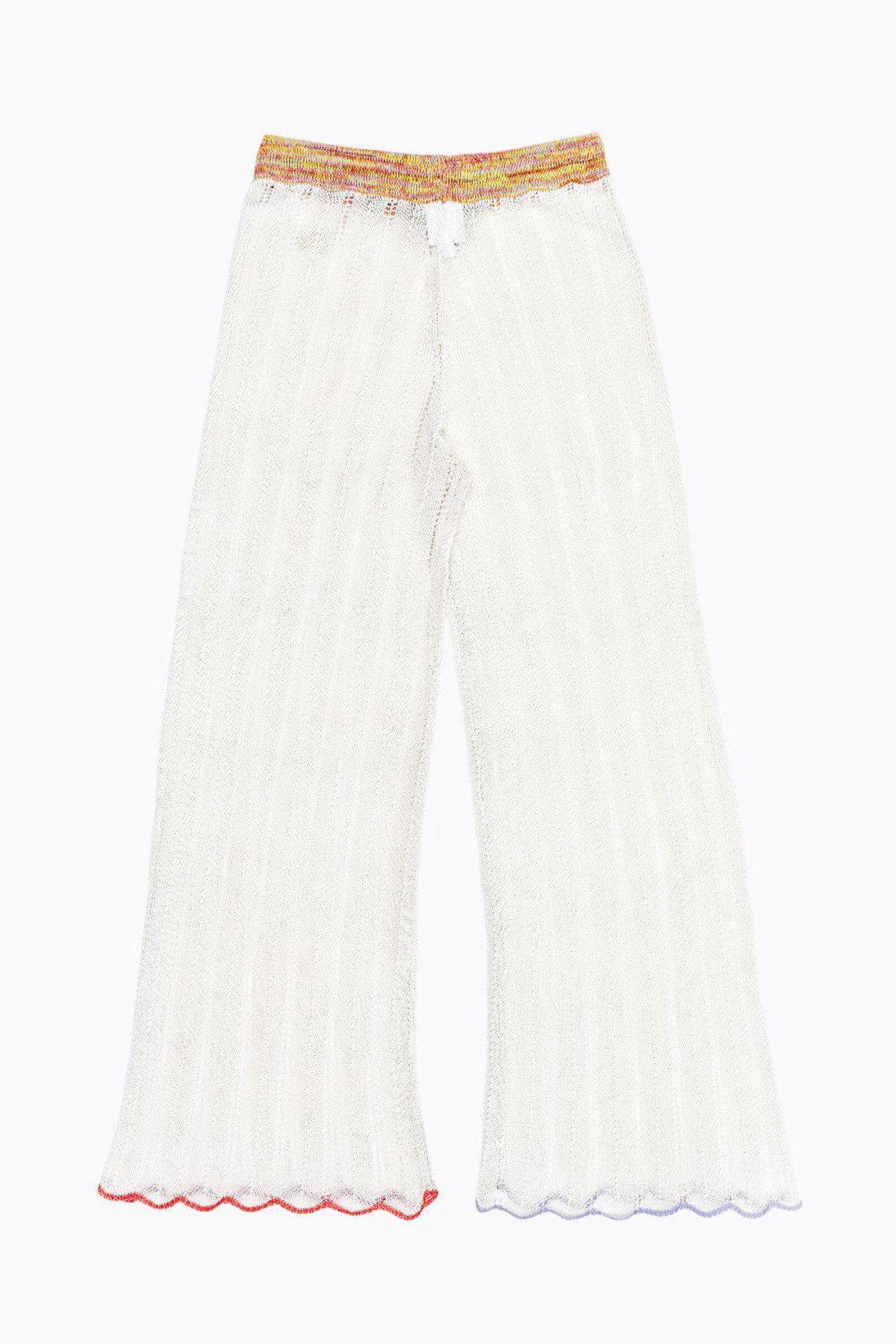 Honey Pant in Ivory Cotton Cord