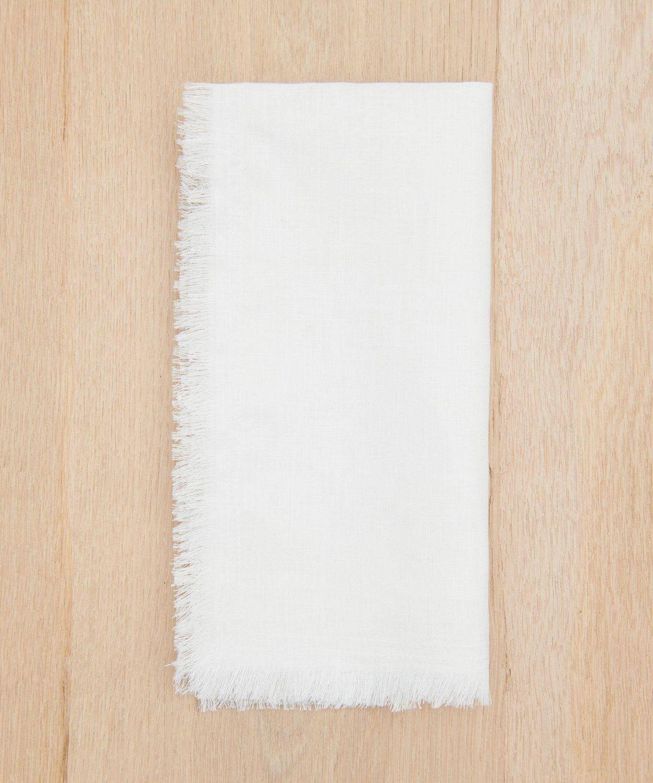 Frayed Linen Napkin
