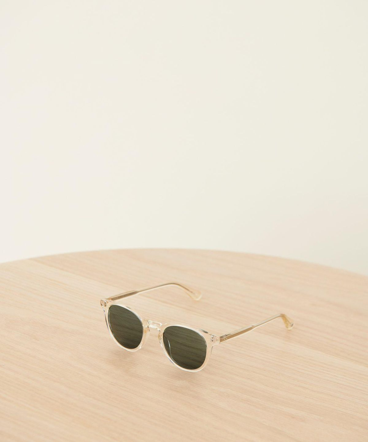 Clement Sunglasses in Pure Glass