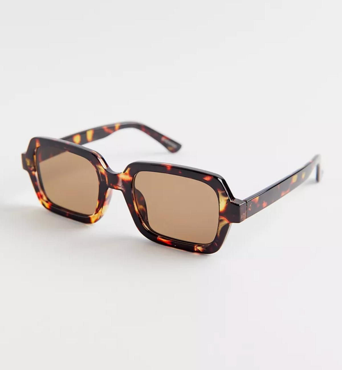 Frances Oversized Rectangle Sunglasses