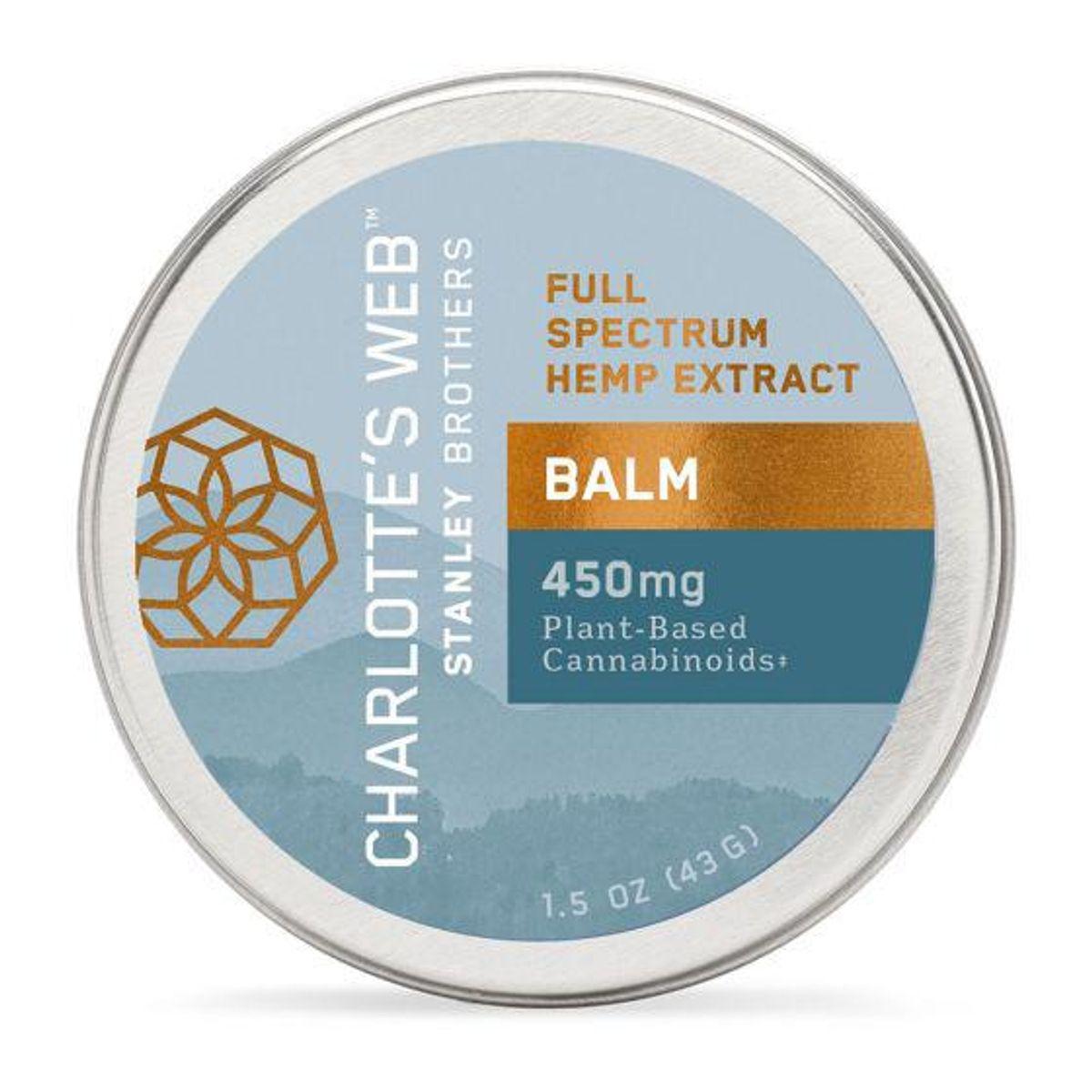 charlottes web hemp infused balm with cbd