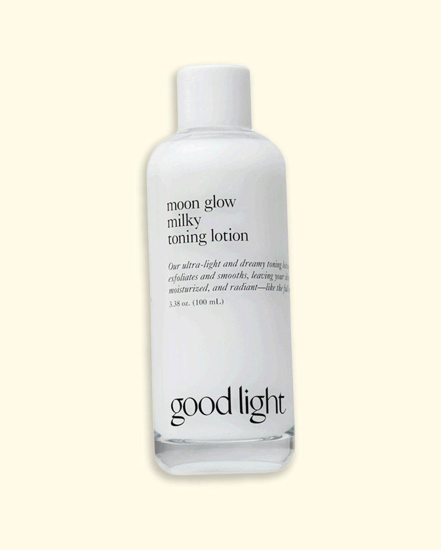 good light moon glow milky toning lotion