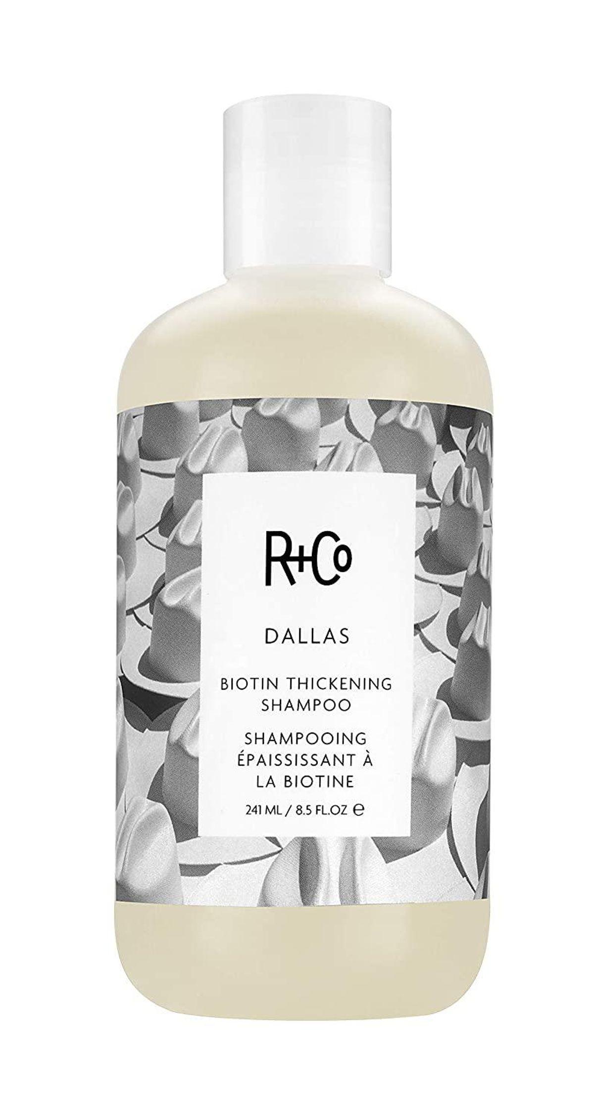r and co dallas biotin thickening shampoo