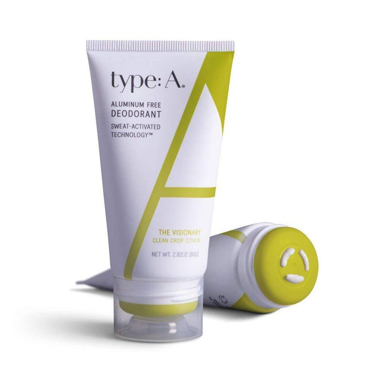 type a aluminum free deodorant