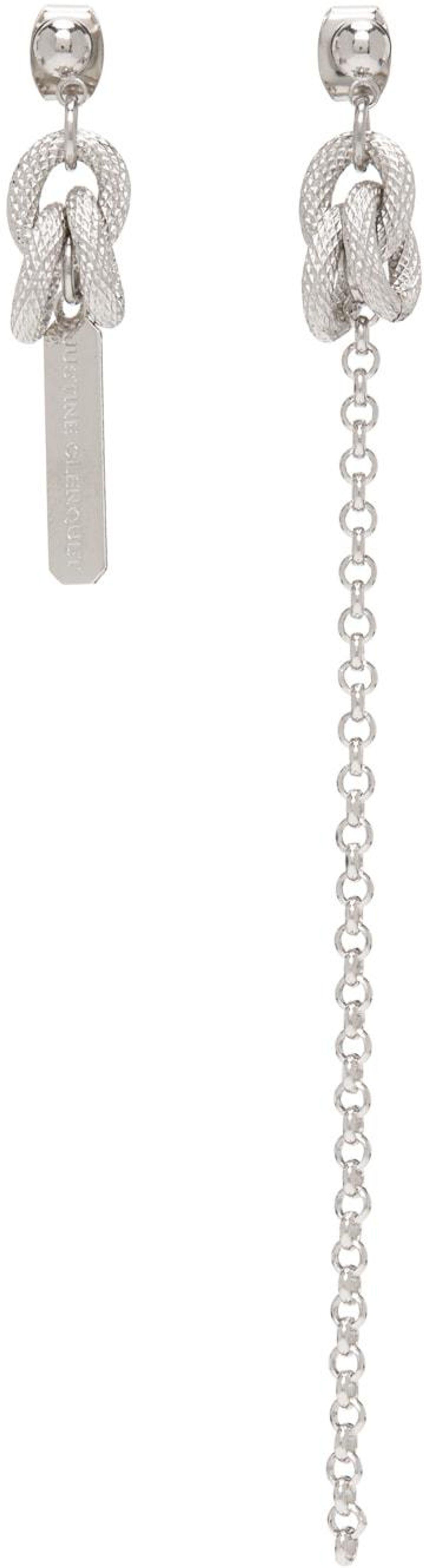 Silver Louise Earrings