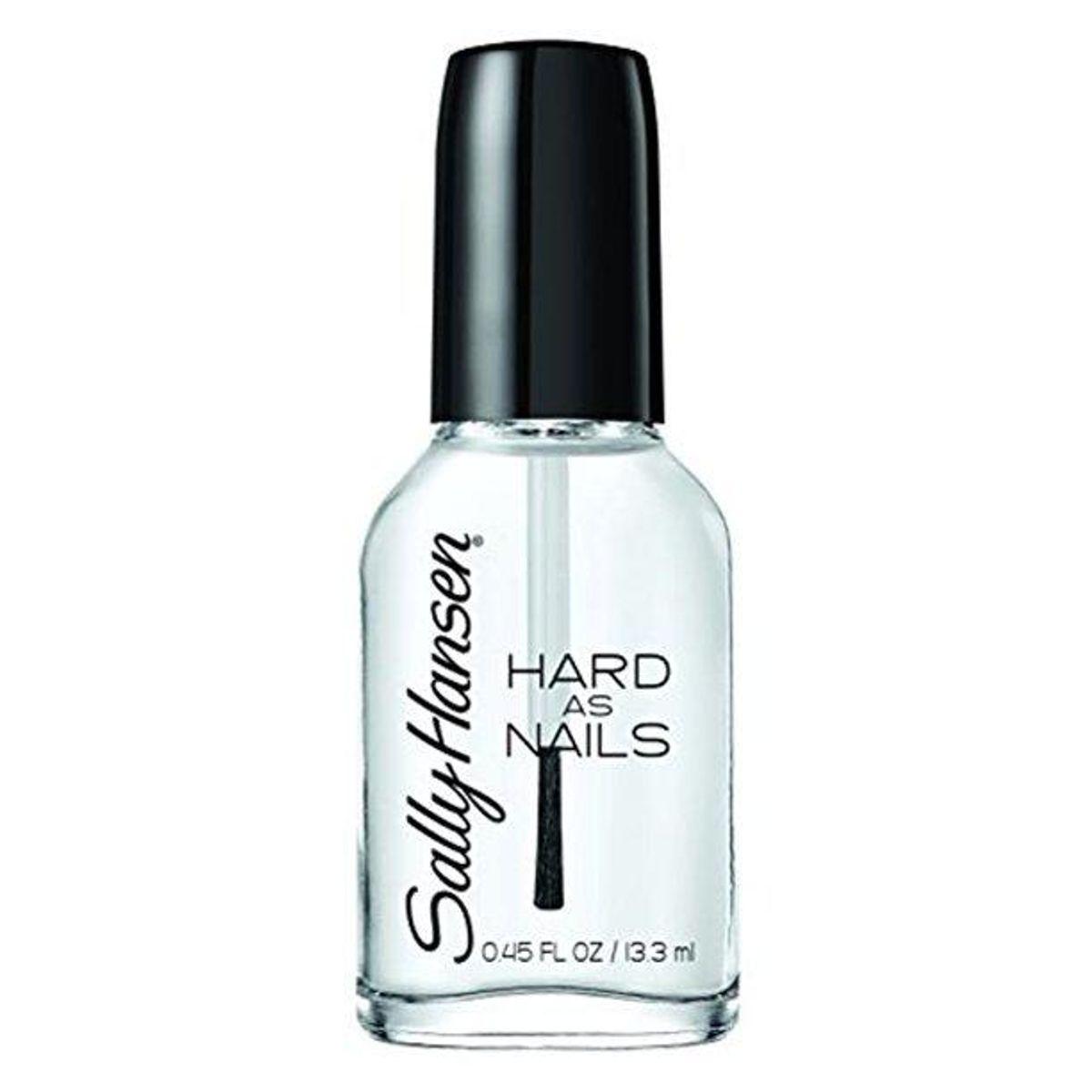 Hard as Nails Nail Polish in Crystal Clear