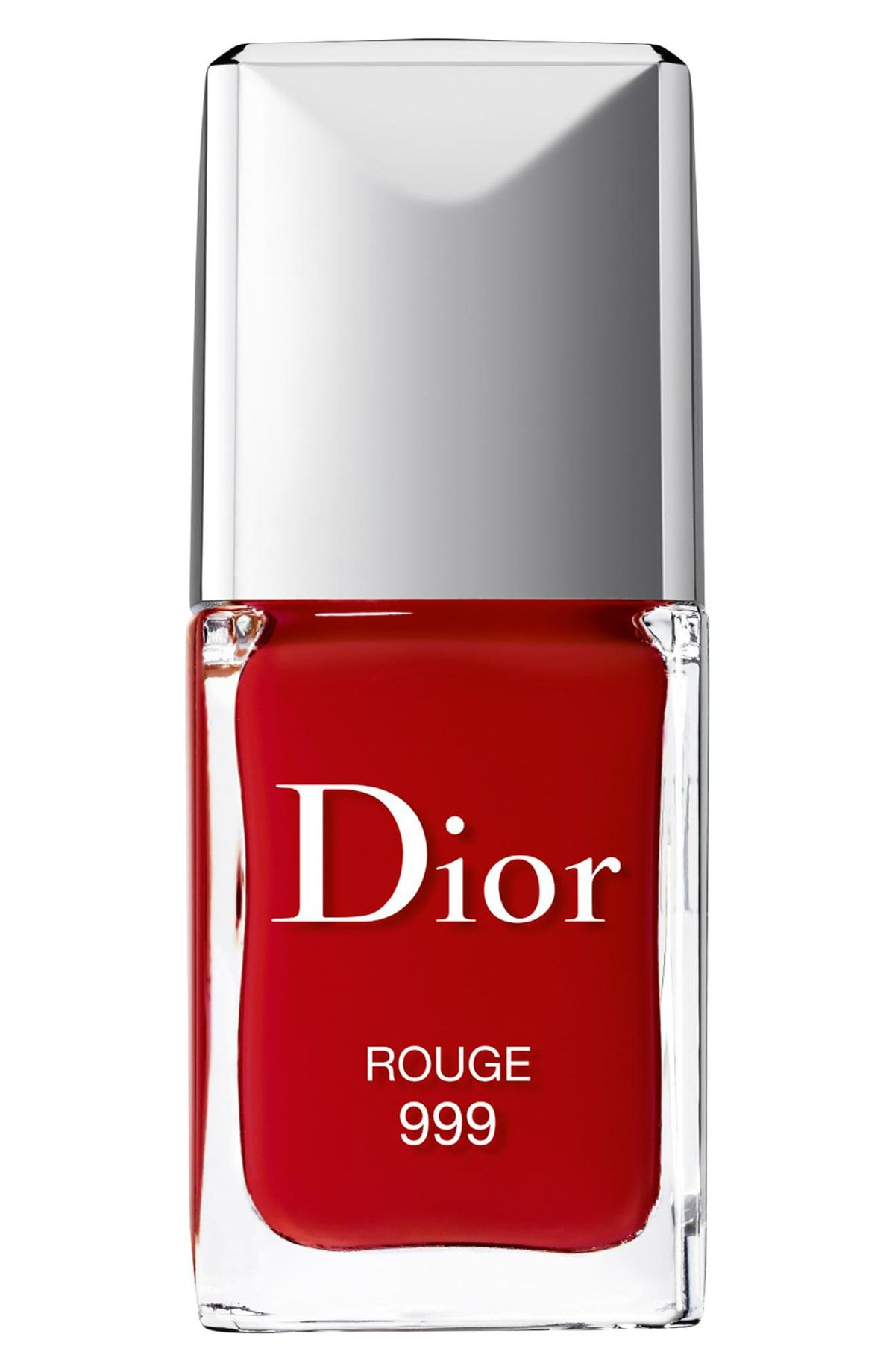 Vernis Gel Shine & Long Wear Nail Lacquer in 999 Rouge