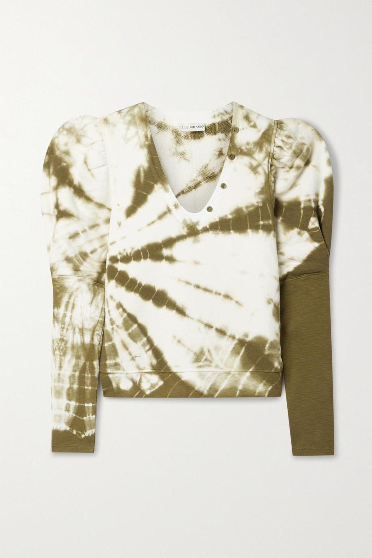 Jude Tie-dyed Cotton Jersey Sweatshirt