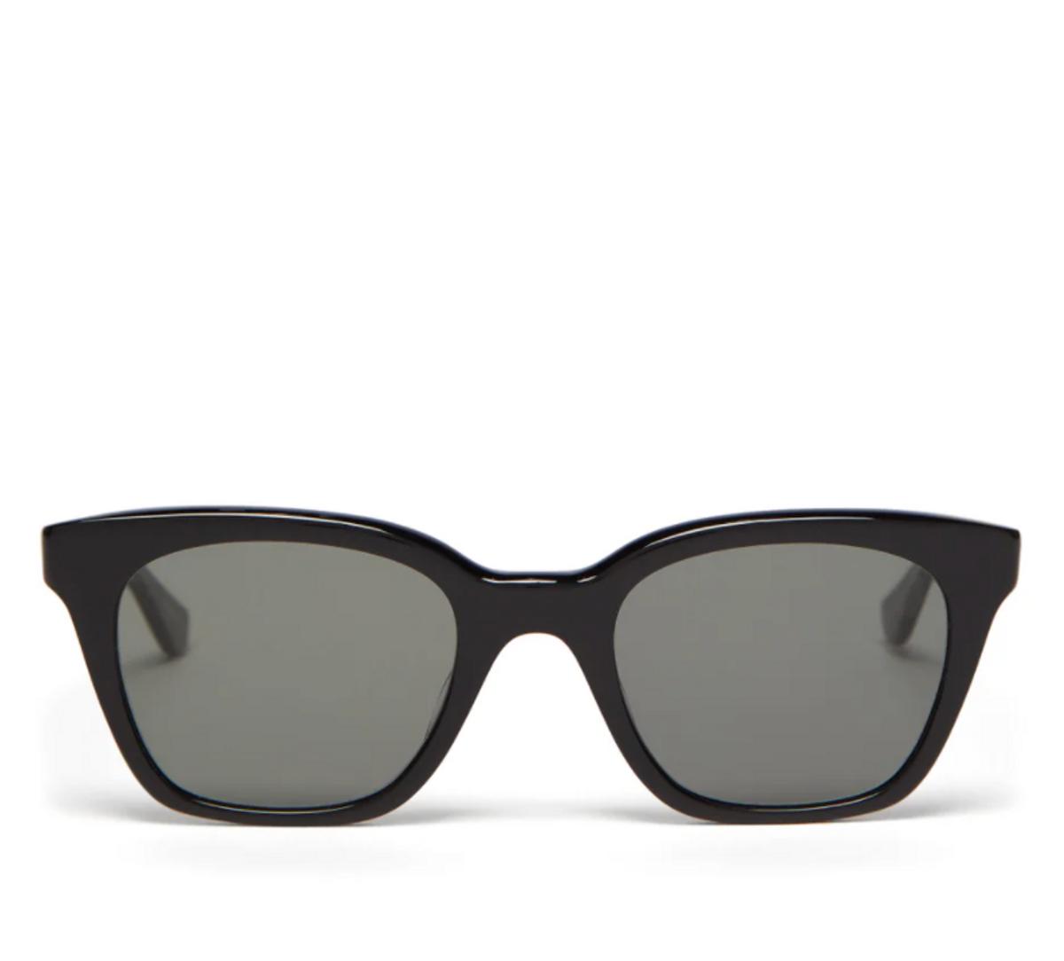 x Clare V Nouvelle Square Acetate Sunglasses