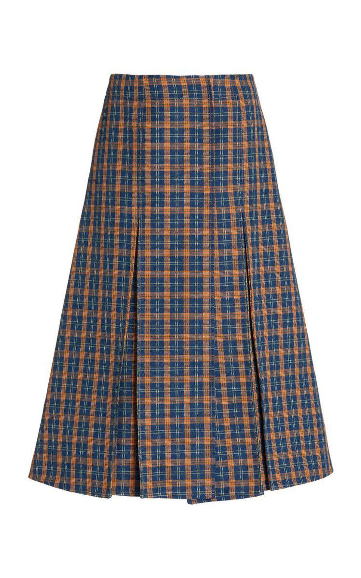 Hanover Boxpleat Skirt