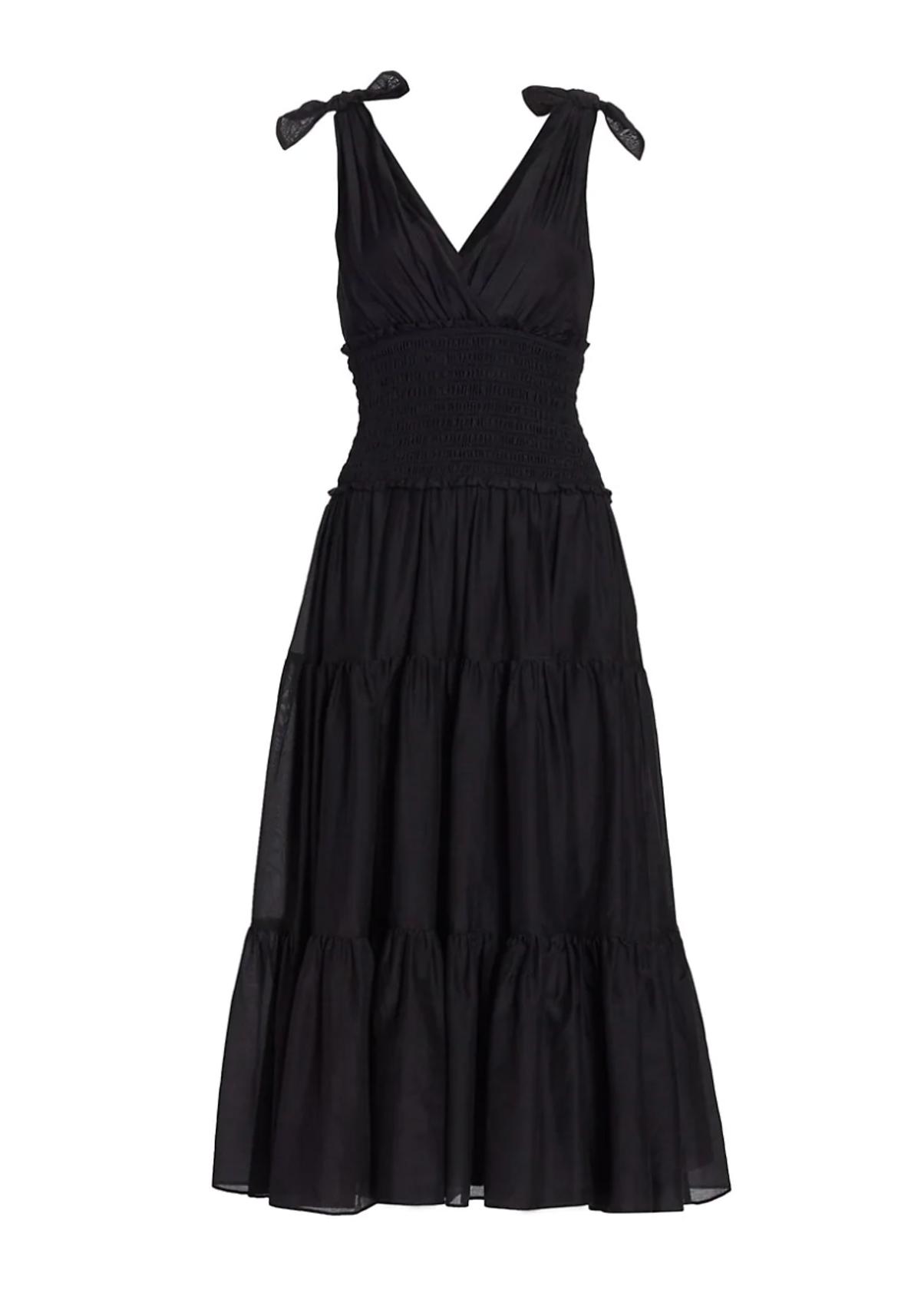 Tamar Tie-strap Smocked Dress