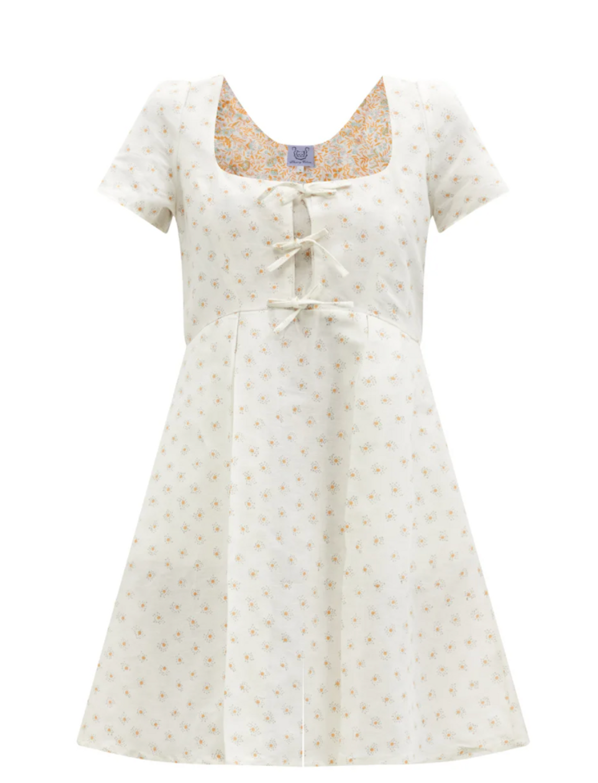 Wilfried Dot-print Cotton-blend Voile Mini Dress