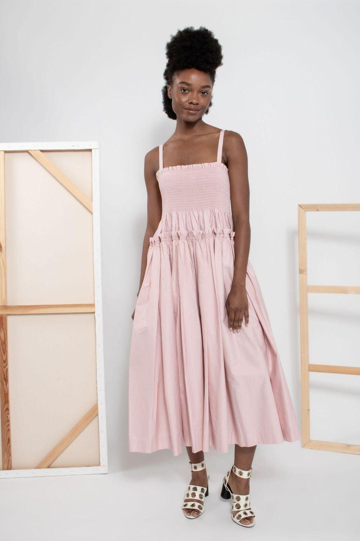 'Marlene' Cotton Dress
