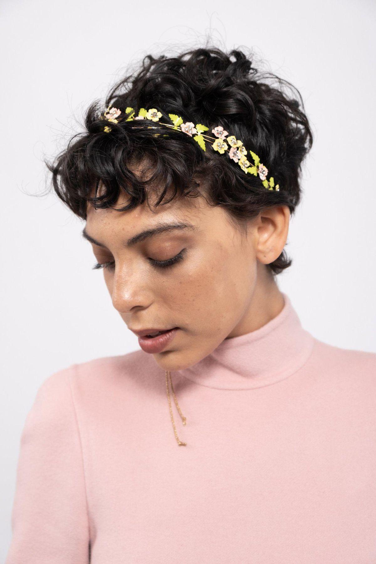 Metallic Ribbon Headband
