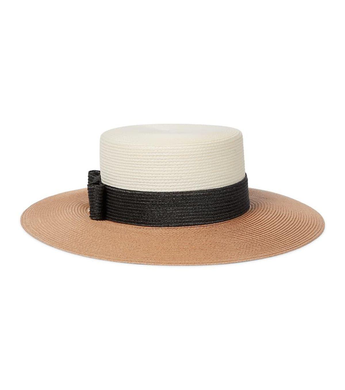 Straw-effect Hat