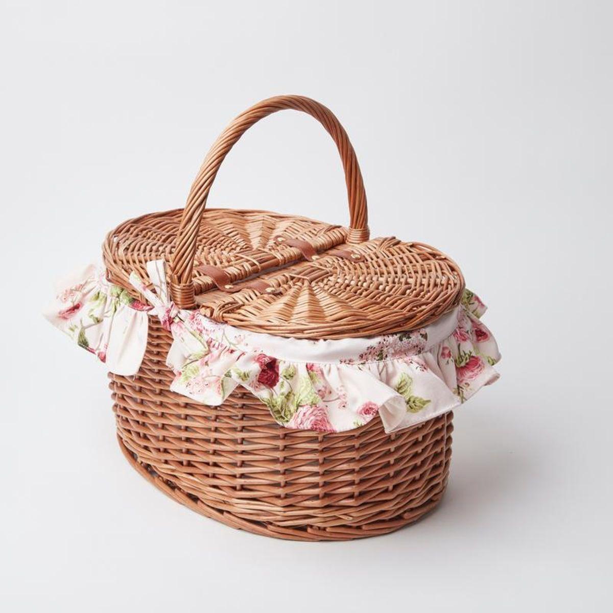 Nancy's Summer Picnic Basket