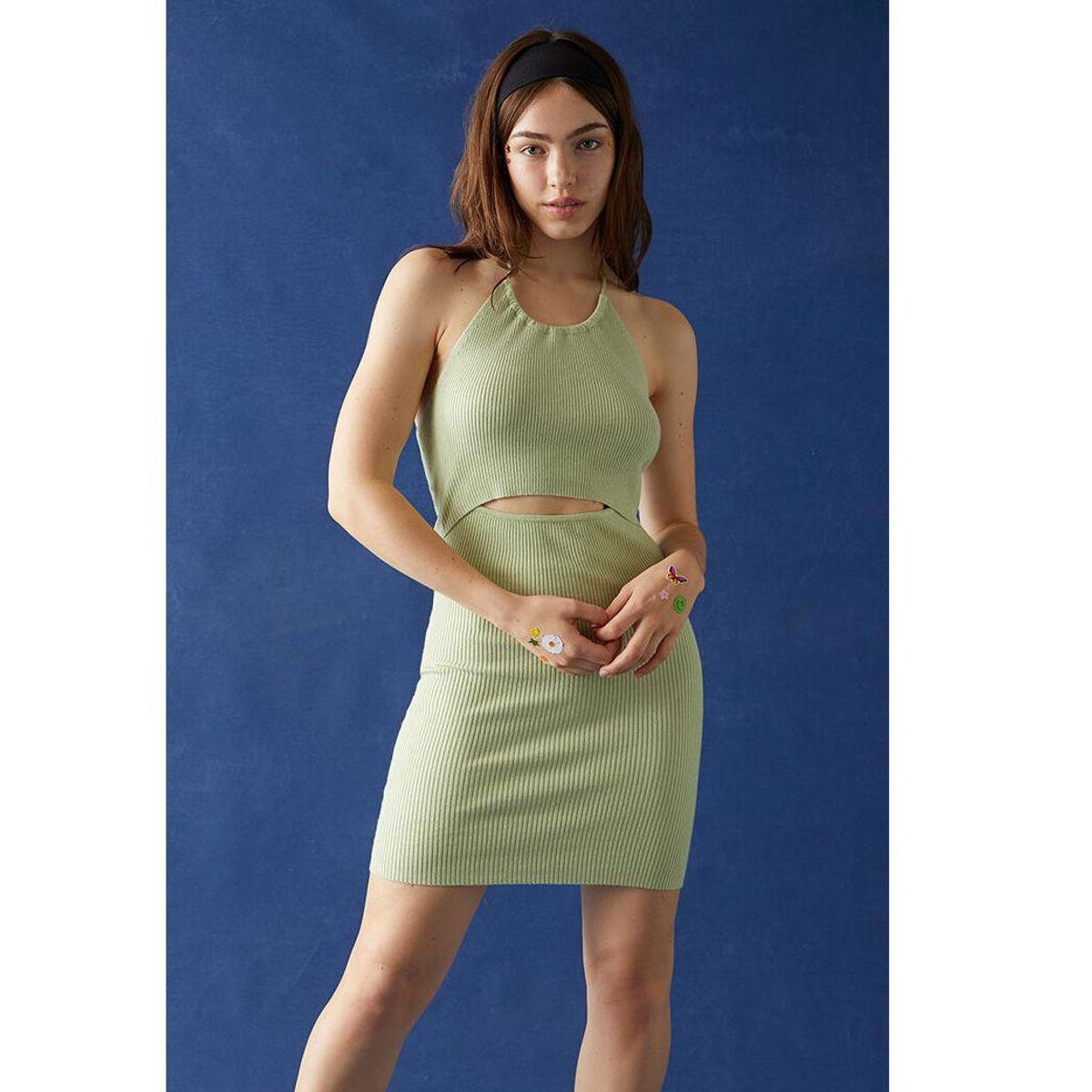 kendall and kylie cutout mini dress