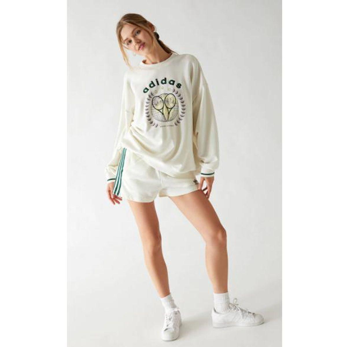 adidas tennis luxe recycled sweatshirt