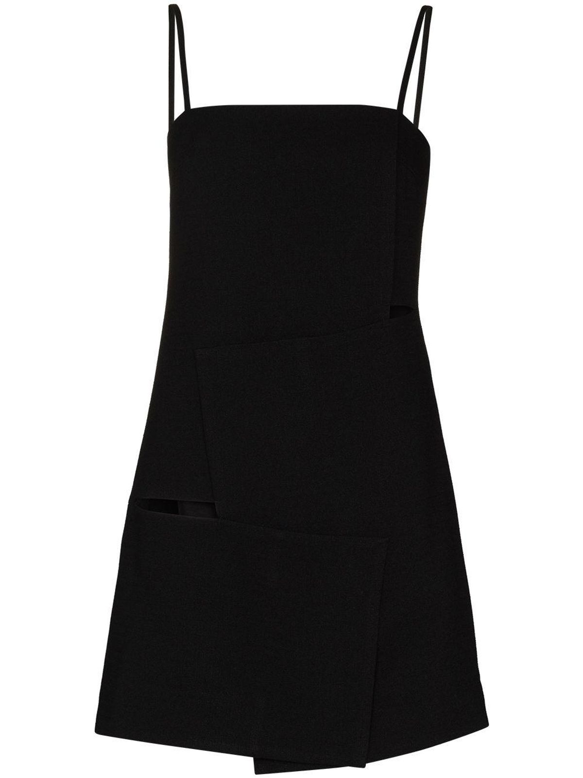 Overlap Long Camisole Top