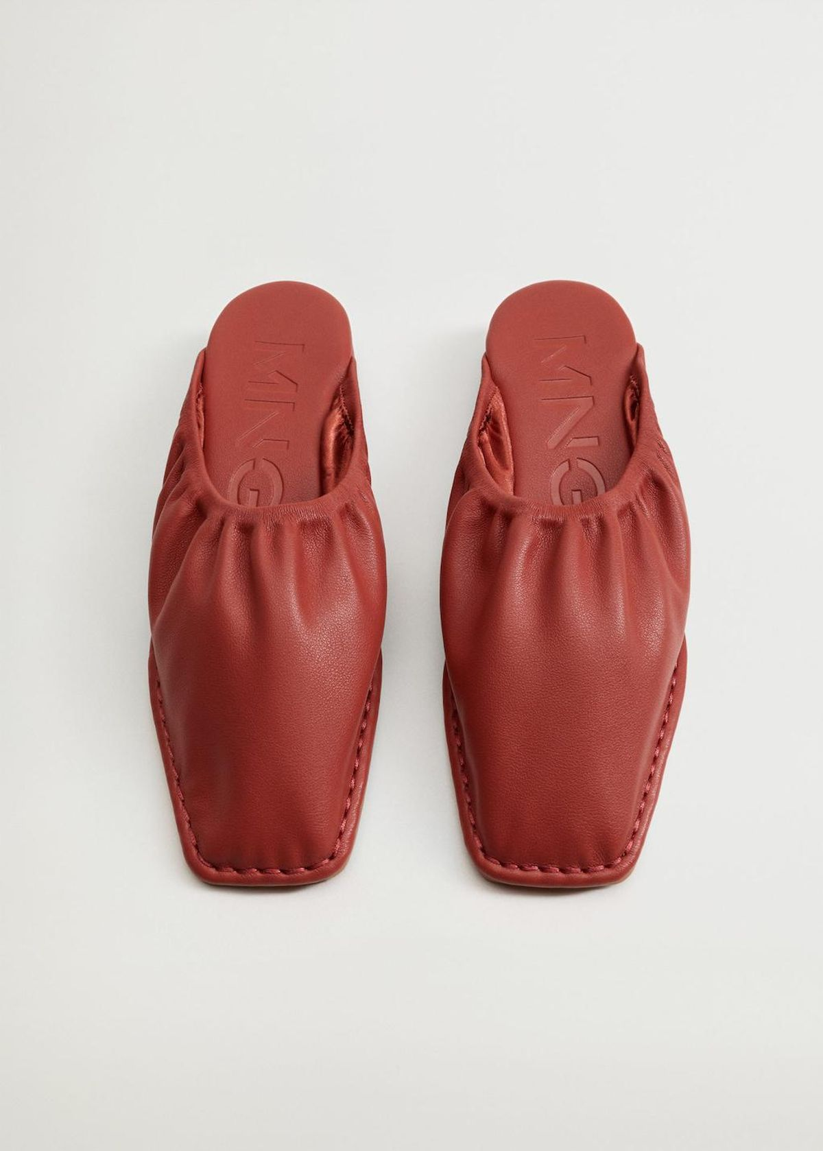 Ruched Wedge Shoes