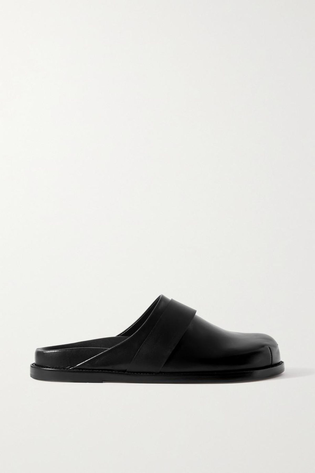 + Frankie Shop Leather Slippers